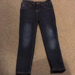 Girl's stretch skinny jeans